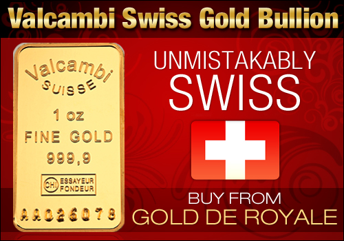 Valcambi Swiss Gold Bullion