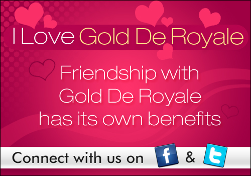 I Love Gold De Royale