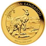 Kangaroo Gold Bullion Coin 1 Ounce