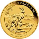 Kangaroo Gold Bullion Coin 1/10 Ounce