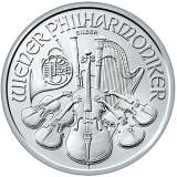 Austrian Philharmonic silver coin